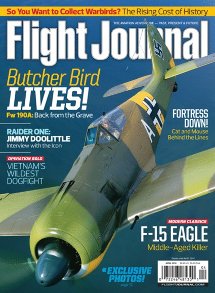 Flight Journal Cover - 4/1/2014