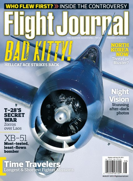 Flight Journal Cover - 8/1/2013