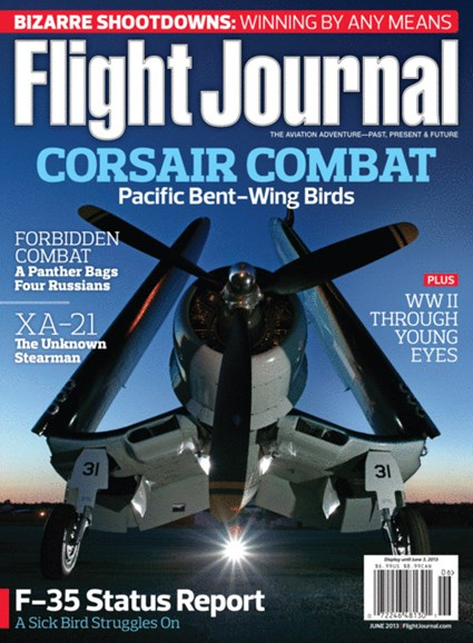 Flight Journal Cover - 6/1/2013