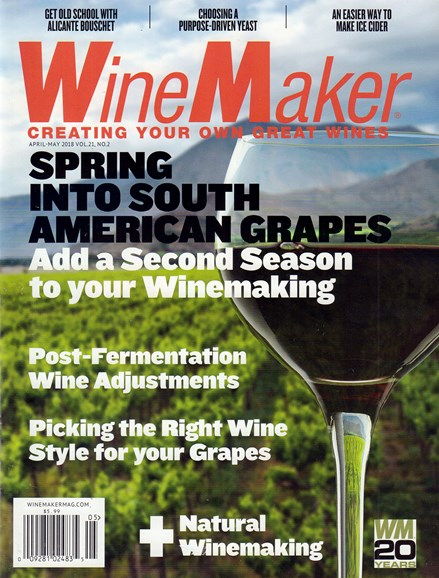 Winemaker Cover - 4/1/2018