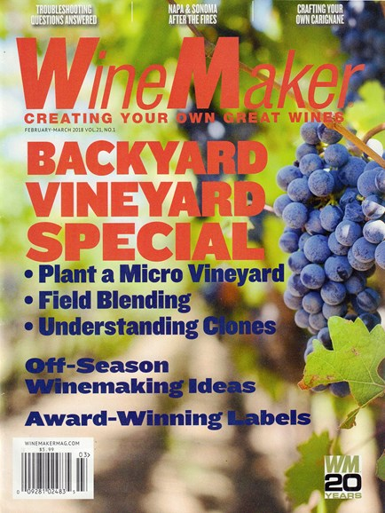 Winemaker Cover - 2/1/2018
