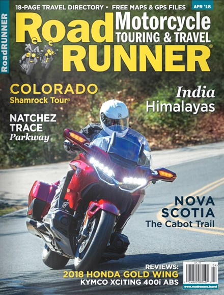 Road RUNNER Motorcycle & Touring Cover - 4/1/2018