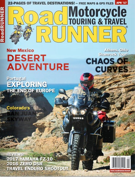 Road RUNNER Motorcycle & Touring Cover - 4/1/2017