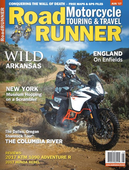 Road RUNNER Motorcycle & Touring Cover - 8/1/2017