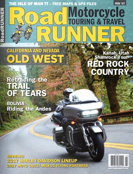 Road RUNNER Motorcycle & Touring Cover - 2/1/2017