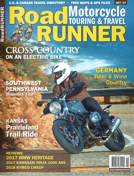 Road RUNNER Motorcycle & Touring Cover - 10/1/2017