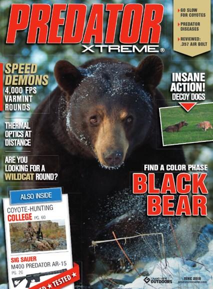 Predator Xtreme Cover - 6/1/2018