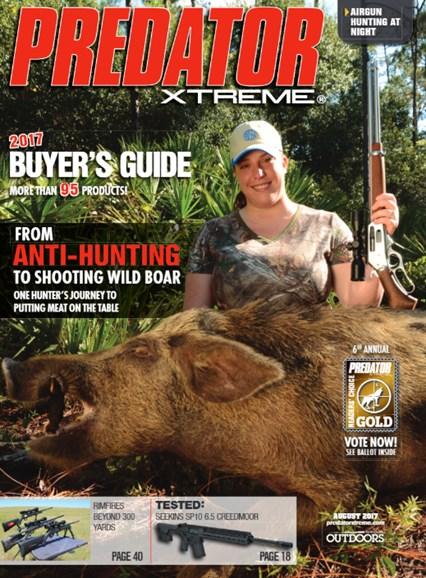 Predator Xtreme Cover - 8/1/2017