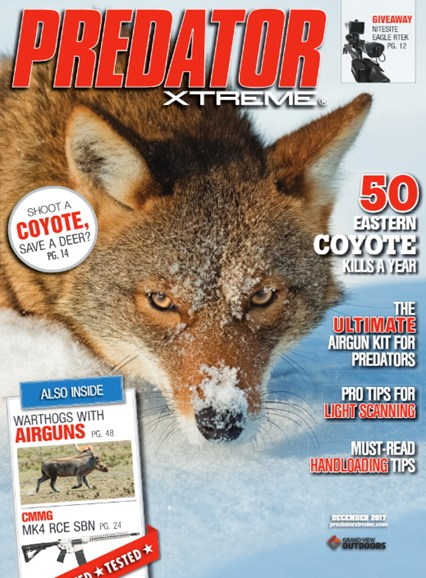 Predator Xtreme Cover - 12/1/2017