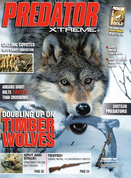 Predator Xtreme Cover - 2/1/2017