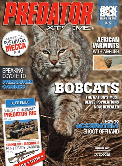 Predator Xtreme Cover - 10/1/2017