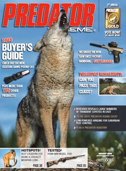 Predator Xtreme Cover - 8/1/2016