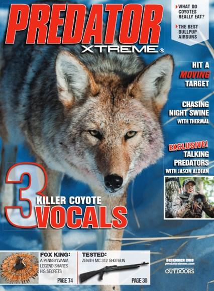 Predator Xtreme Cover - 12/1/2016