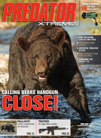 Predator Xtreme Cover - 6/1/2016