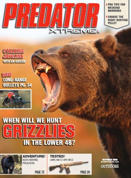 Predator Xtreme Cover - 10/1/2016