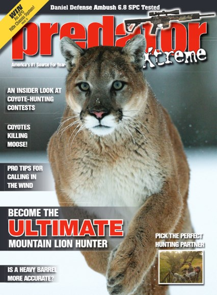 Predator Xtreme Cover - 12/1/2015