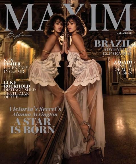 Maxim Cover - 3/1/2018