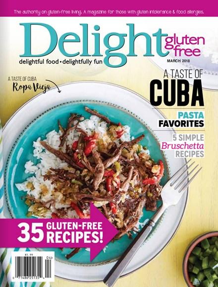 Delight Gluten Free Cover - 3/1/2018