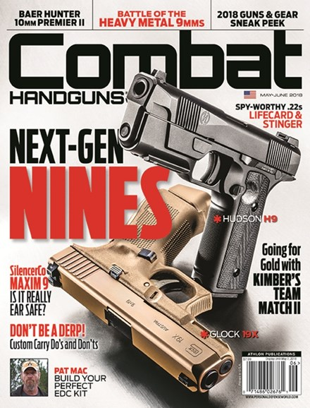 Combat Handguns Cover - 5/1/2018