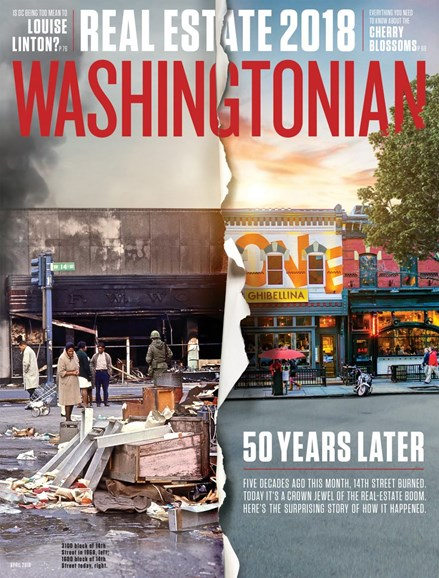 Washingtonian Cover - 4/1/2018