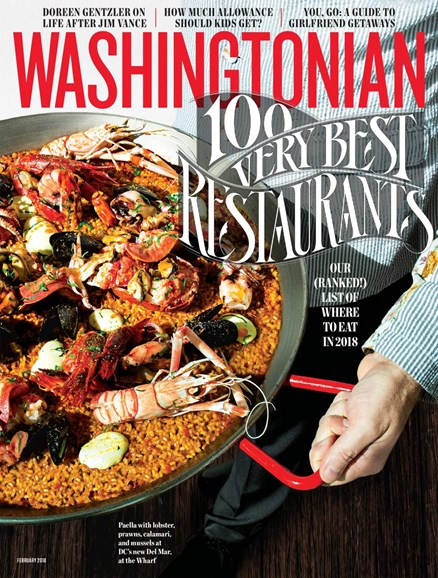 Washingtonian Cover - 2/1/2018