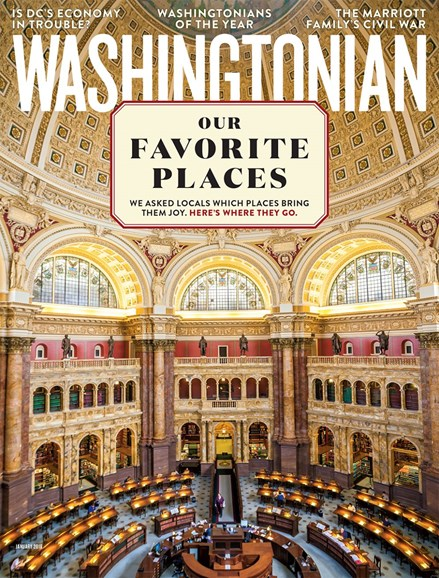 Washingtonian Cover - 1/1/2018