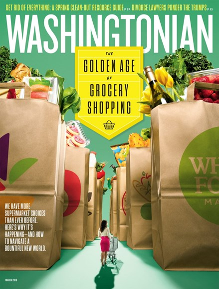 Washingtonian Cover - 3/1/2018