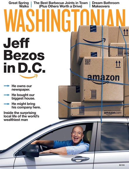 Washingtonian Cover - 5/1/2018