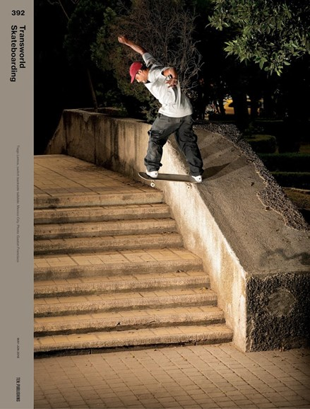 Transworld SKATEboarding Cover - 5/1/2018
