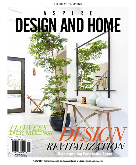 Aspire Design and Home Cover - 3/1/2018