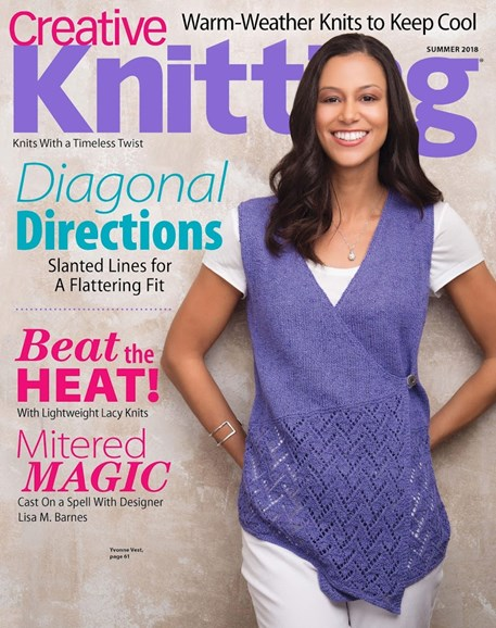 Creative Knitting Cover - 6/1/2018