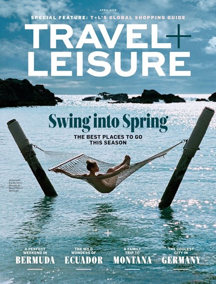 Travel + Leisure Cover - 4/1/2018
