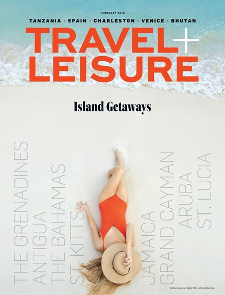 Travel + Leisure Cover - 2/1/2018