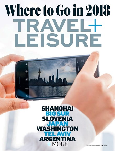 Travel + Leisure Cover - 1/1/2018