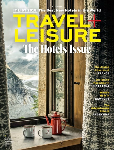 Travel + Leisure Cover - 3/1/2018