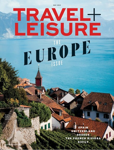 Travel + Leisure Cover - 5/1/2018