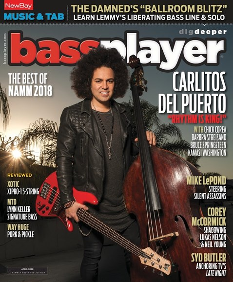 Bass Player Cover - 4/1/2018