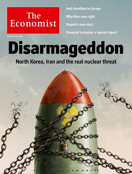 The Economist Cover - 5/5/2018