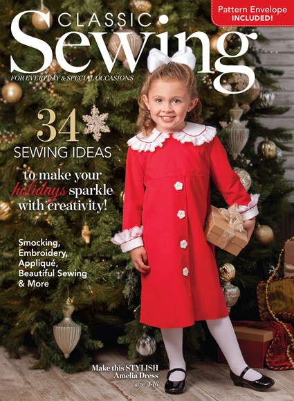 Classic Sewing Cover - 12/1/2016