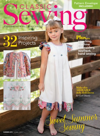 Classic Sewing Cover - 6/1/2016