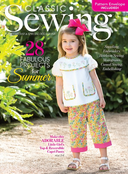 Classic Sewing Cover - 6/1/2017