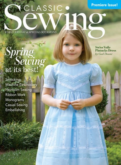 Classic Sewing Cover - 3/1/2016