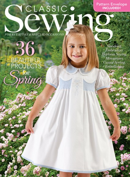 Classic Sewing Cover - 3/1/2017
