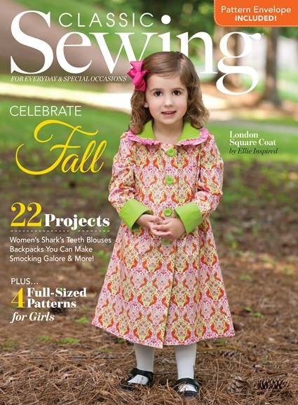 Classic Sewing Cover - 9/1/2016