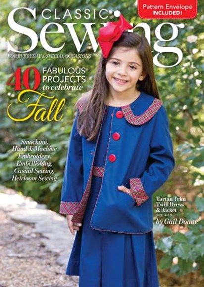 Classic Sewing Cover - 9/1/2017