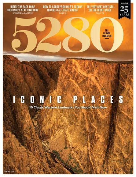 5280 Magazine Cover - 5/1/2018