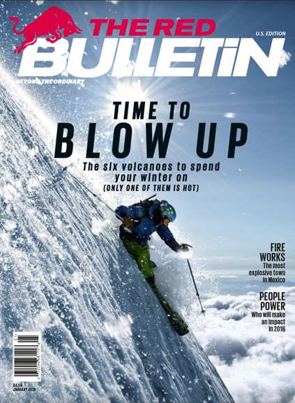 The Red Bulletin Cover - 1/1/2016