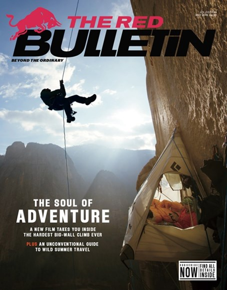The Red Bulletin Cover - 5/1/2018