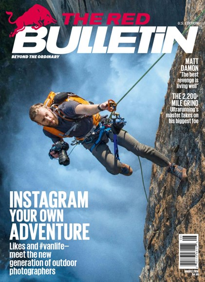 The Red Bulletin Cover - 8/1/2016