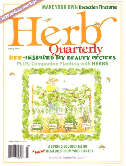 Herb Quarterly Cover - 3/1/2018